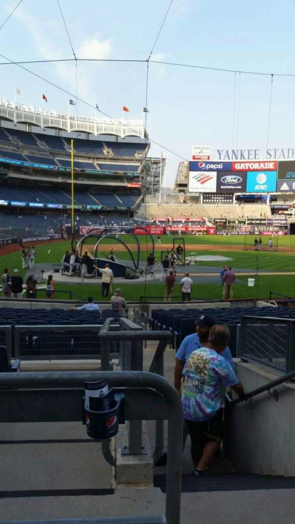 Yankee Stadium, section: 118, row: 6, seat: 1