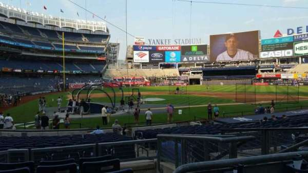 Yankee Stadium, section: 118, row: 6, seat: 4