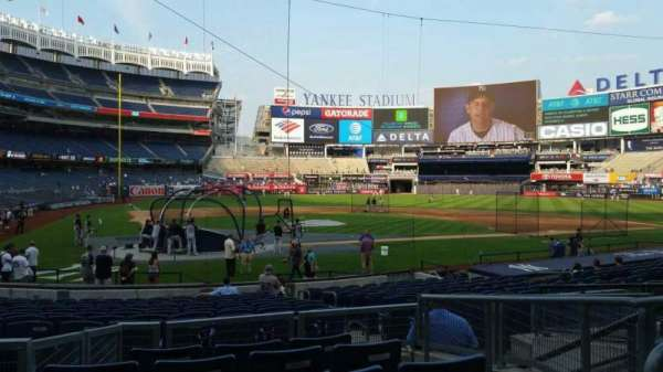 Yankee Stadium, section: 118, row: 6, seat: 6