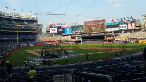 Yankee Stadium, section: 119, row: 11, seat: 1