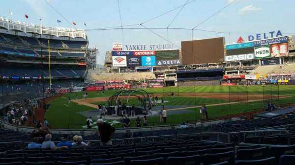 Yankee Stadium, section: 119, row: 11, seat: 4