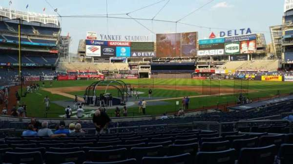 Yankee Stadium, section: 119, row: 11, seat: 5