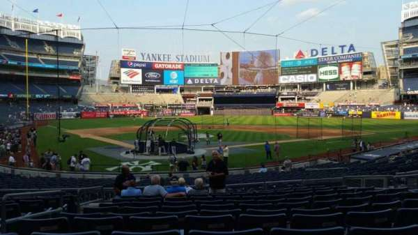 Yankee Stadium, section: 119, row: 11, seat: 7