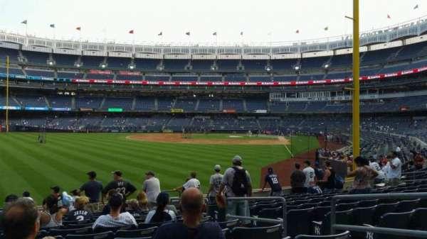 Yankee Stadium, section: 133, row: 12, seat: 5