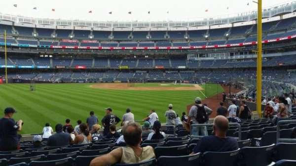 Yankee Stadium, section: 133, row: 12, seat: 7