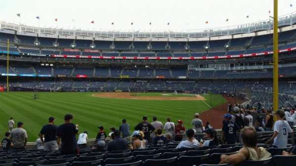 Yankee Stadium, section: 133, row: 12, seat: 10