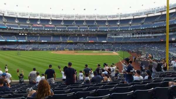 Yankee Stadium, section: 133, row: 12, seat: 13