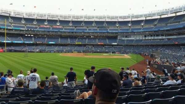 Yankee Stadium, section: 133, row: 12, seat: 15
