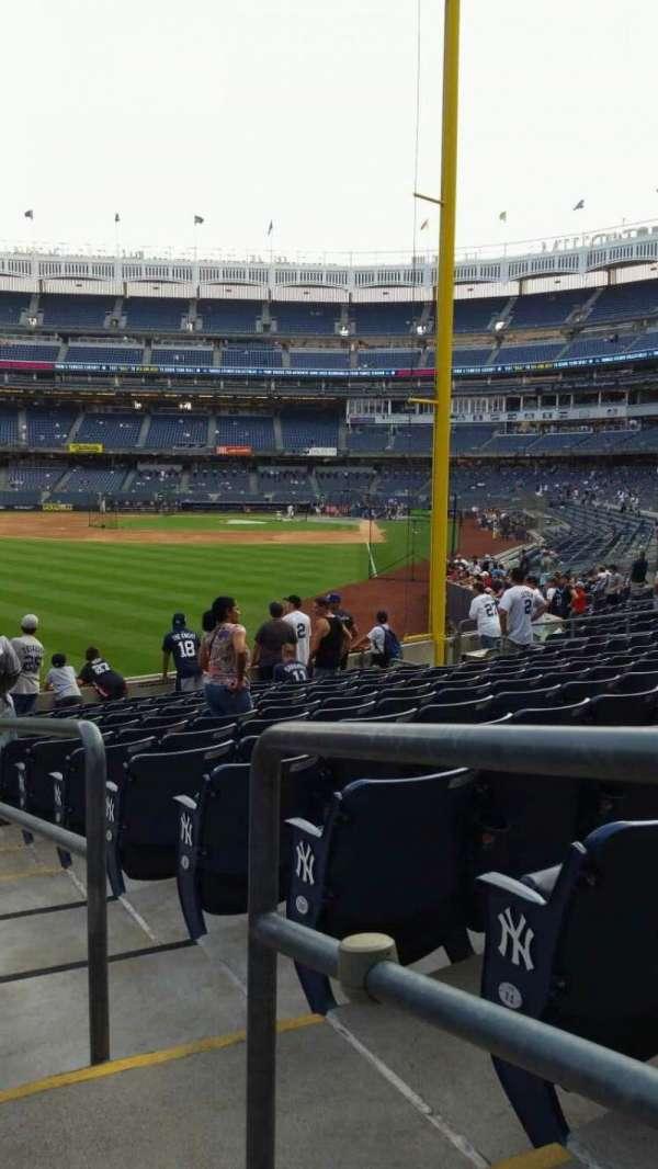 Yankee Stadium, section: 133, row: 13, seat: 1