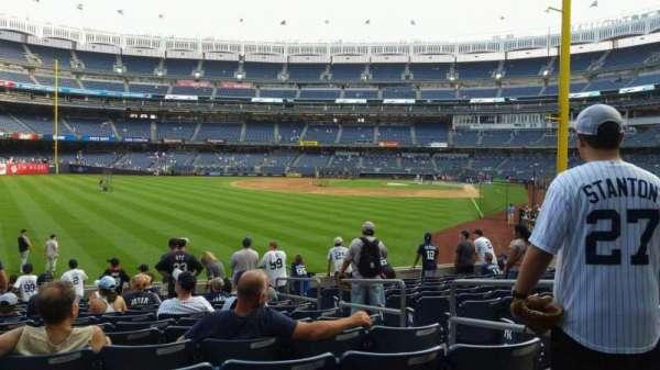 Yankee Stadium, section: 133, row: 13, seat: 4