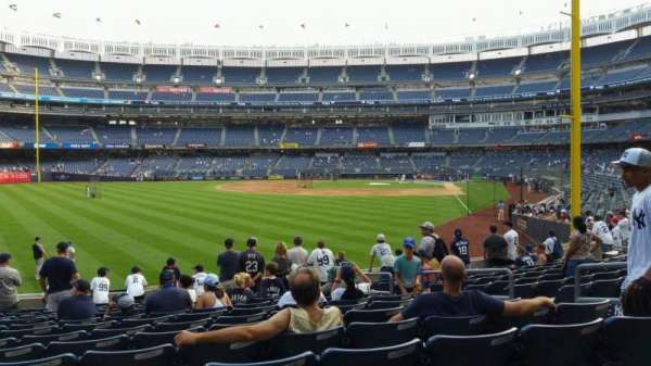 Yankee Stadium, section: 133, row: 13, seat: 7