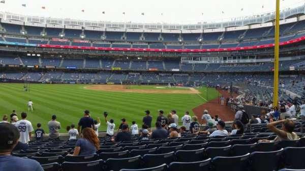 Yankee Stadium, section: 133, row: 13, seat: 13