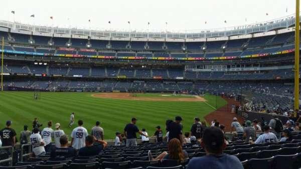 Yankee Stadium, section: 133, row: 13, seat: 16