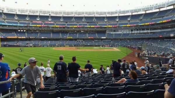 Yankee Stadium, section: 133, row: 13, seat: 18
