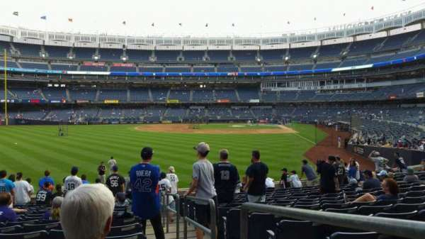 Yankee Stadium, section: 134, row: 14, seat: 1