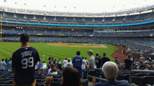 Yankee Stadium, section: 134, row: 14, seat: 3
