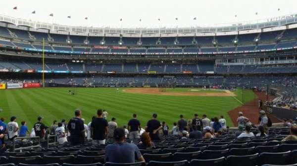 Yankee Stadium, section: 133, row: 15, seat: 15