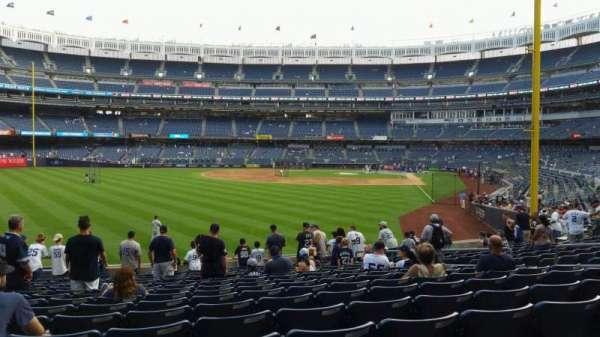 Yankee Stadium, section: 133, row: 15, seat: 12
