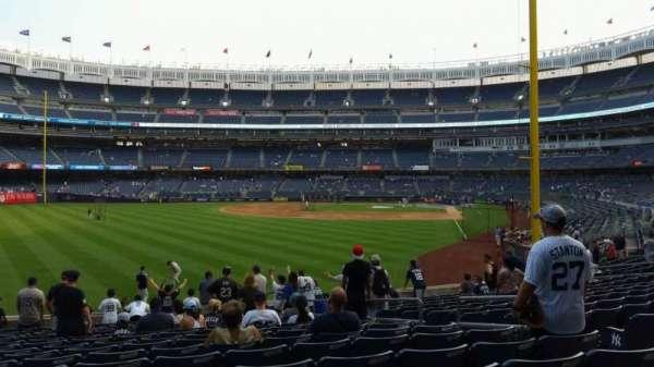 Yankee Stadium, section: 133, row: 15, seat: 7