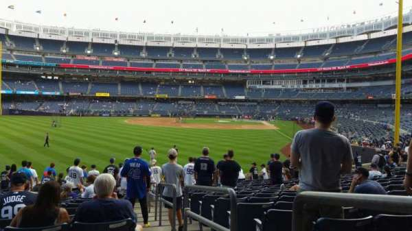 Yankee Stadium, section: 134, row: 16, seat: 1