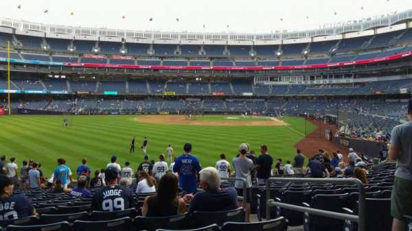 Yankee Stadium, section: 134, row: 16, seat: 3