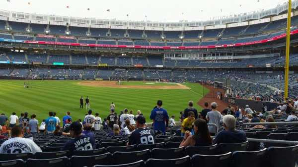 Yankee Stadium, section: 134, row: 16, seat: 6