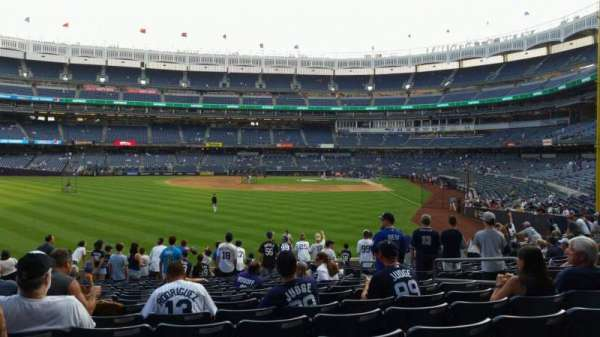 Yankee Stadium, section: 134, row: 16, seat: 8