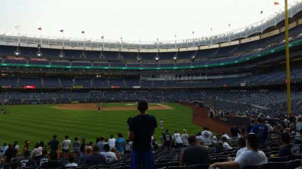 Yankee Stadium, section: 134, row: 16, seat: 15