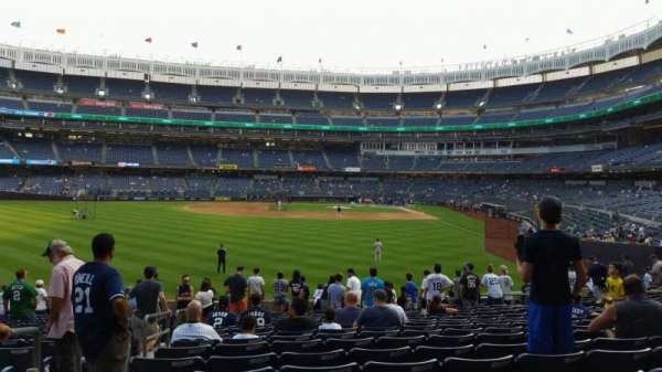 Yankee Stadium, section: 134, row: 16, seat: 18