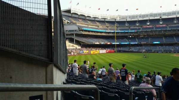 Yankee Stadium, section: 134, row: 16, seat: 19