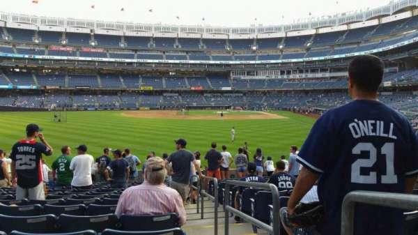 Yankee Stadium, section: 135, row: 14, seat: 1