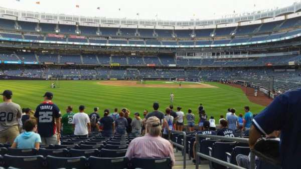 Yankee Stadium, section: 135, row: 14, seat: 2