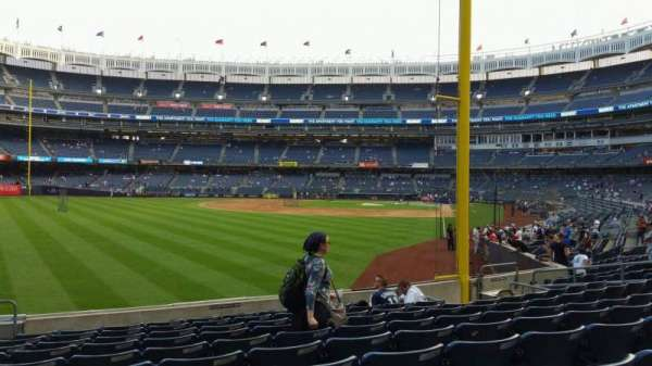 Yankee Stadium, section: 132, row: 10, seat: 18