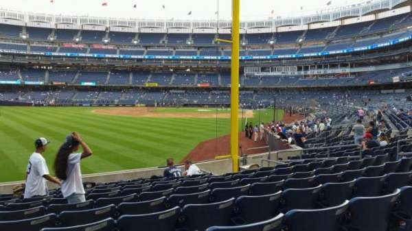 Yankee Stadium, section: 132, row: 10, seat: 16