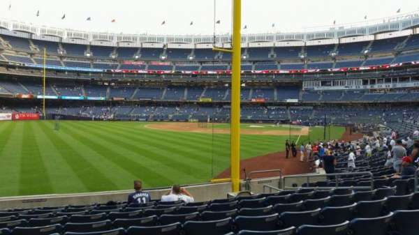 Yankee Stadium, section: 132, row: 10, seat: 12