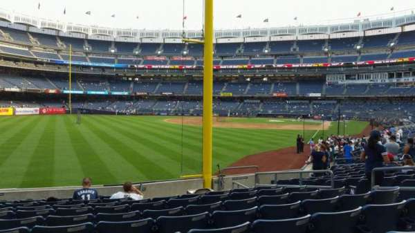 Yankee Stadium, section: 132, row: 10, seat: 9