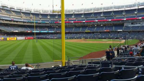 Yankee Stadium, section: 132, row: 10, seat: 6