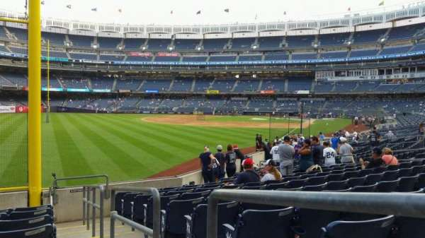 Yankee Stadium, section: 132, row: 10, seat: 1