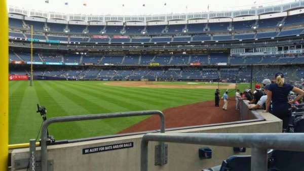 Yankee Stadium, section: 132, row: 3, seat: 1