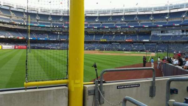 Yankee Stadium, section: 132, row: 3, seat: 3