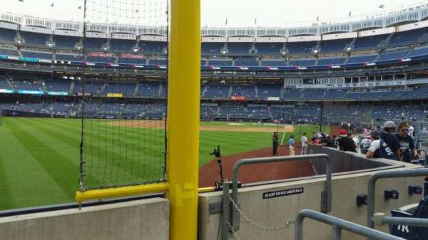 Yankee Stadium, section: 132, row: 3, seat: 4