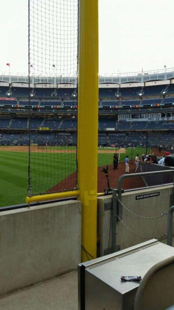 Yankee Stadium, section: 132, row: 3, seat: 5
