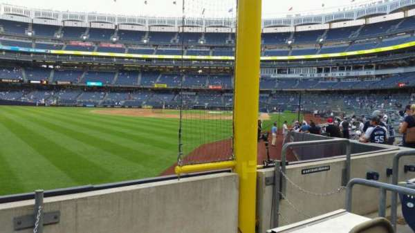 Yankee Stadium, section: 132, row: 3, seat: 6