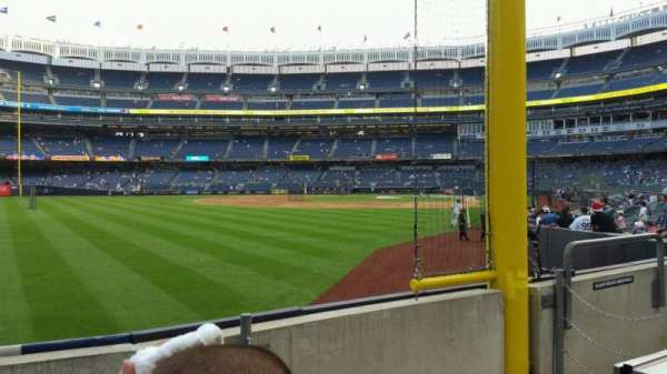 Yankee Stadium, section: 132, row: 3, seat: 7