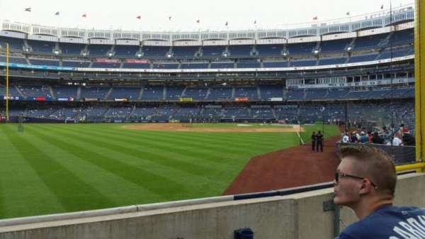 Yankee Stadium, section: 132, row: 3, seat: 10