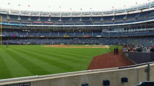 Yankee Stadium, section: 132, row: 3, seat: 12