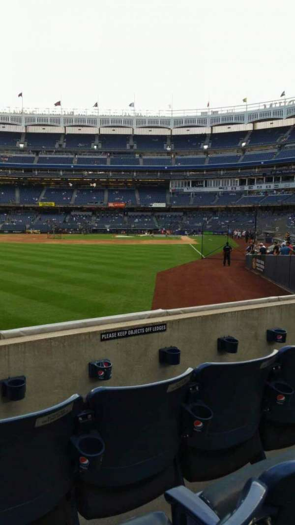 Yankee Stadium, section: 132, row: 3, seat: 15