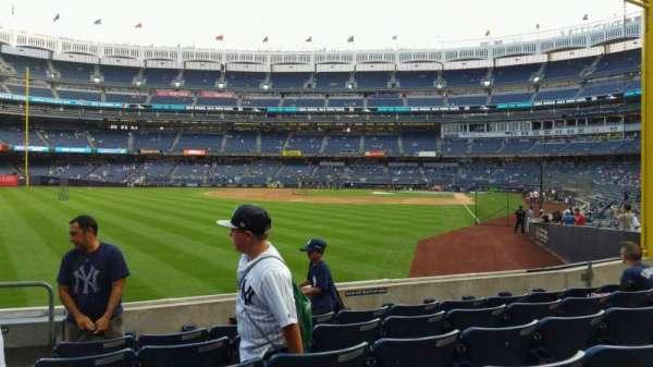 Yankee Stadium, section: 132, row: 6, seat: 18