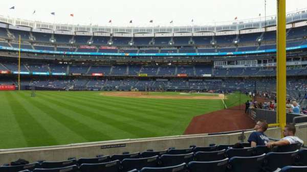 Yankee Stadium, section: 132, row: 6, seat: 15