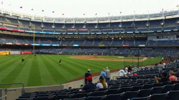 Yankee Stadium, section: 131, row: 13, seat: 18